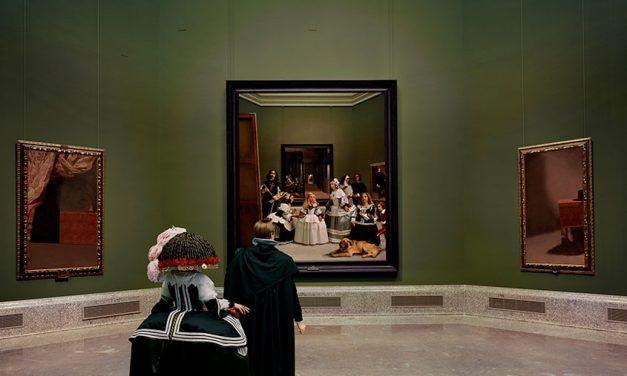 """La escena en """"Las Meninas"""" de Velázquez"""